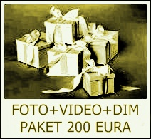 FOTO+VIDEO+DIM PAKET 200 EURA