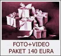 FOTO+VIDEO PAKET 140 EURA